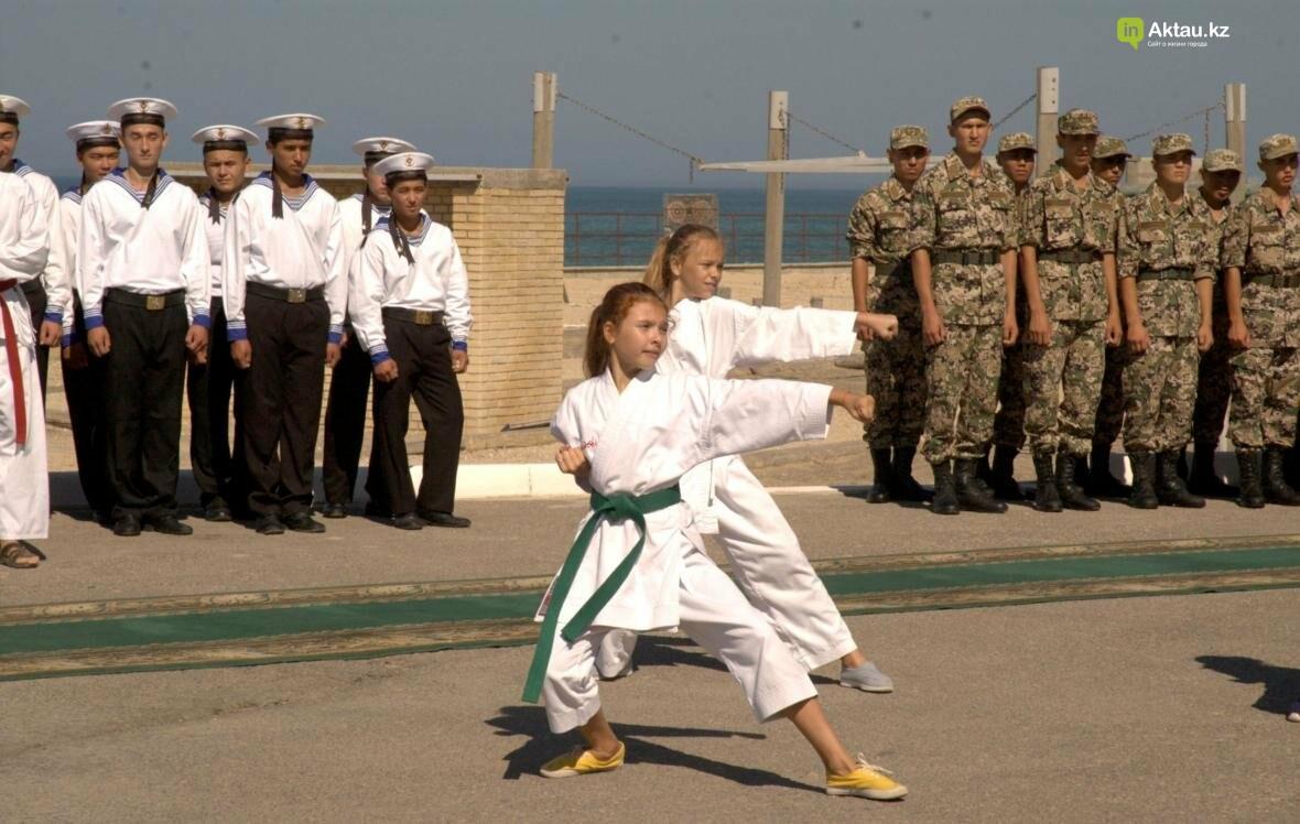 """Семь дней ученики Актау проведут в военно-патриотическом лагере """"Жас сарбаз"""". Видео, фото-13"""
