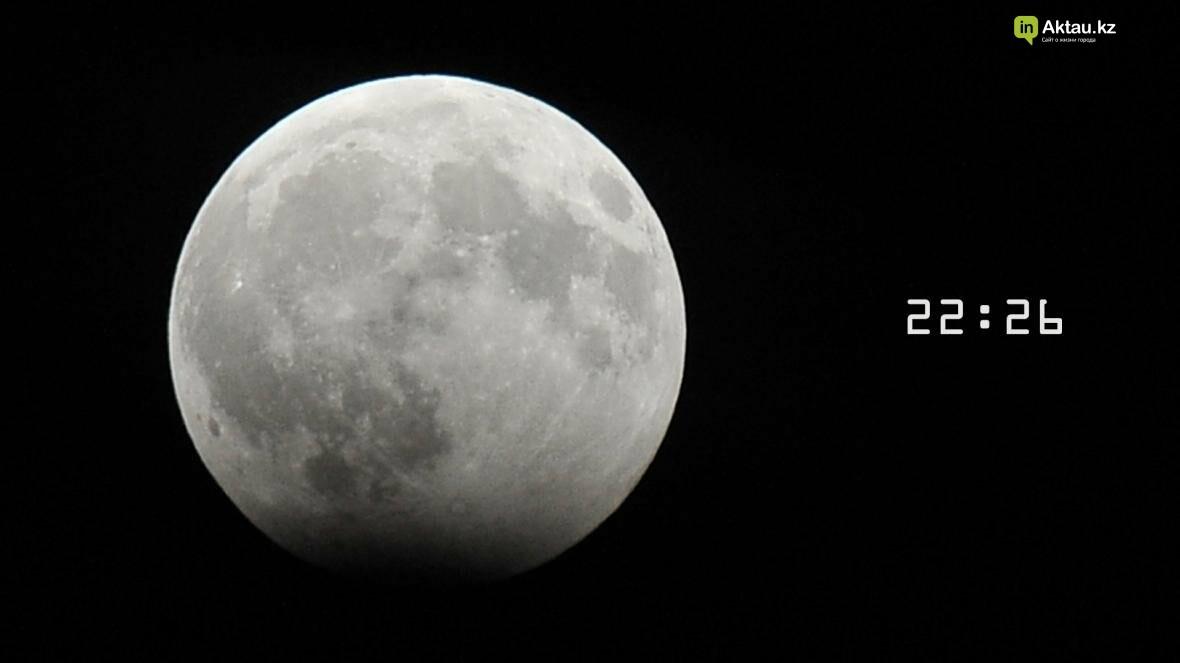 Жители Актау наблюдали лунное затмение (Фото), фото-3