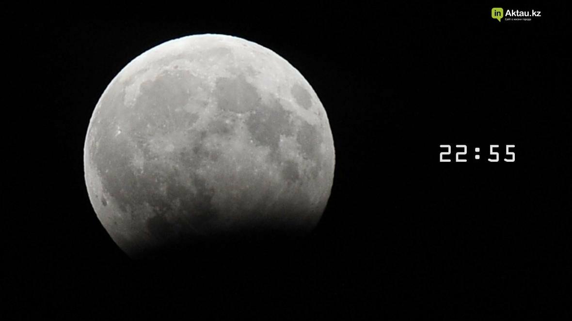 Жители Актау наблюдали лунное затмение (Фото), фото-4