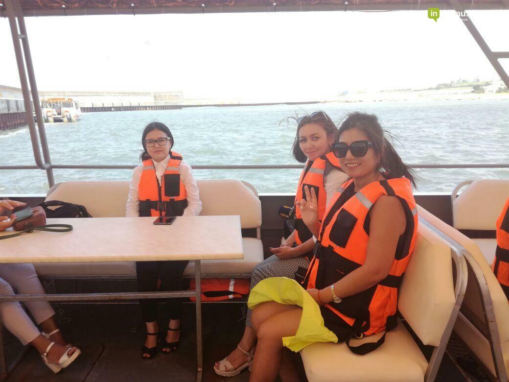 В Актау открываются экскурсионно-прогулочные туры на судне-катамаране (Видео), фото-9