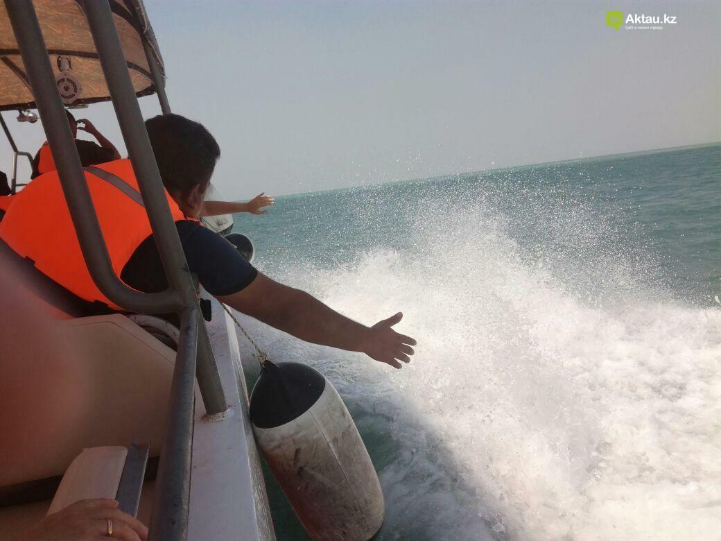 В Актау открываются экскурсионно-прогулочные туры на судне-катамаране (Видео), фото-6