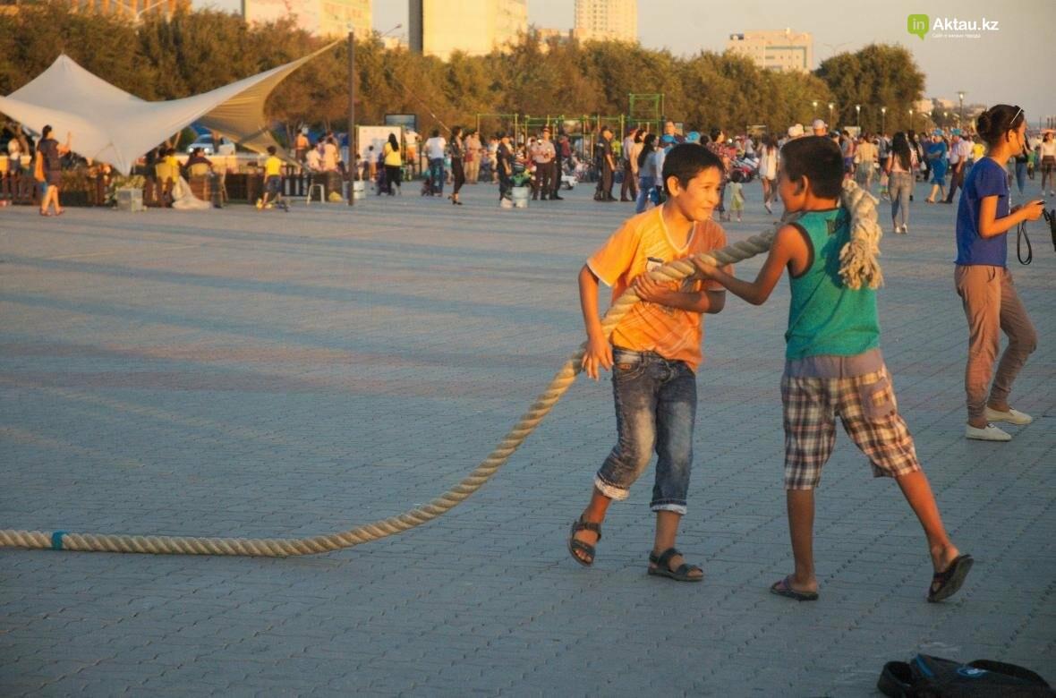 Как жители Актау провели День Каспия (Видео), фото-14