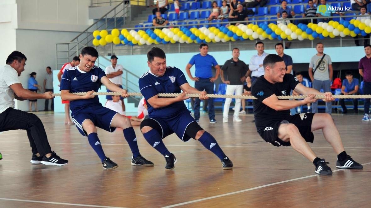 В Актау на прошедшей спартакиаде были определены самые сильные и быстрые спортсмены (Фото), фото-14