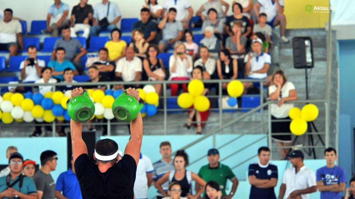 В Актау на прошедшей спартакиаде были определены самые сильные и быстрые спортсмены (Фото), фото-1