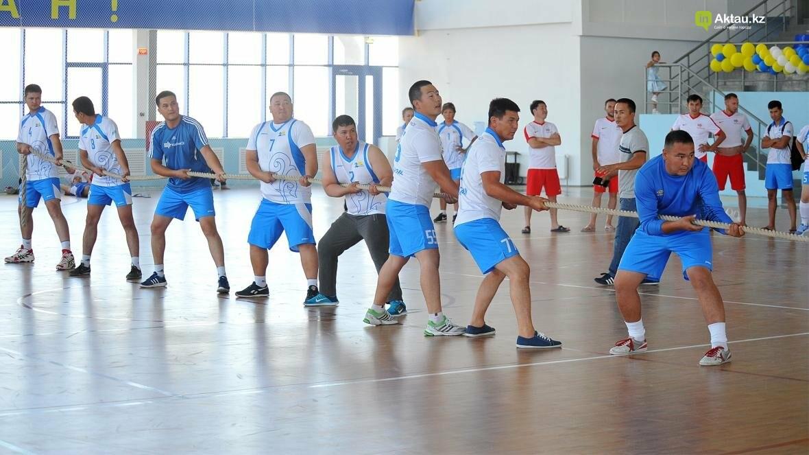 В Актау на прошедшей спартакиаде были определены самые сильные и быстрые спортсмены (Фото), фото-12