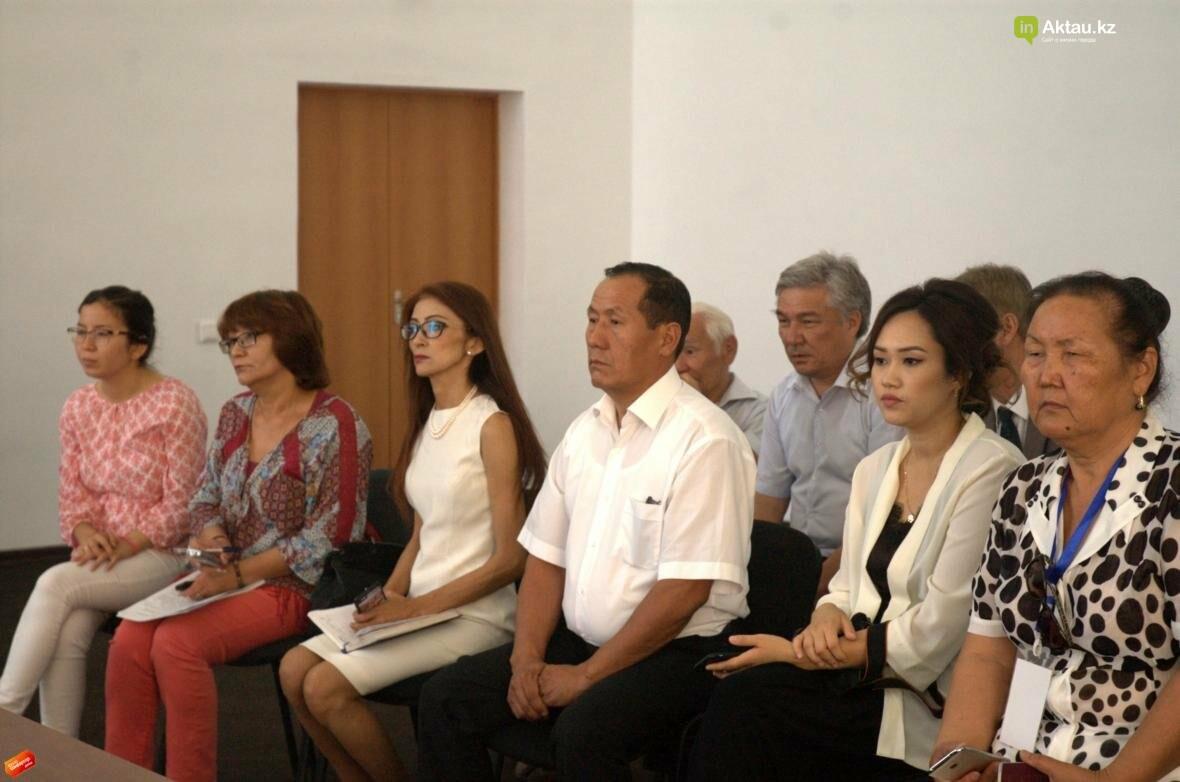 В Актау прошла пресс-конференция театрального фестиваля с участием Асанали Ашимова (Видео), фото-5