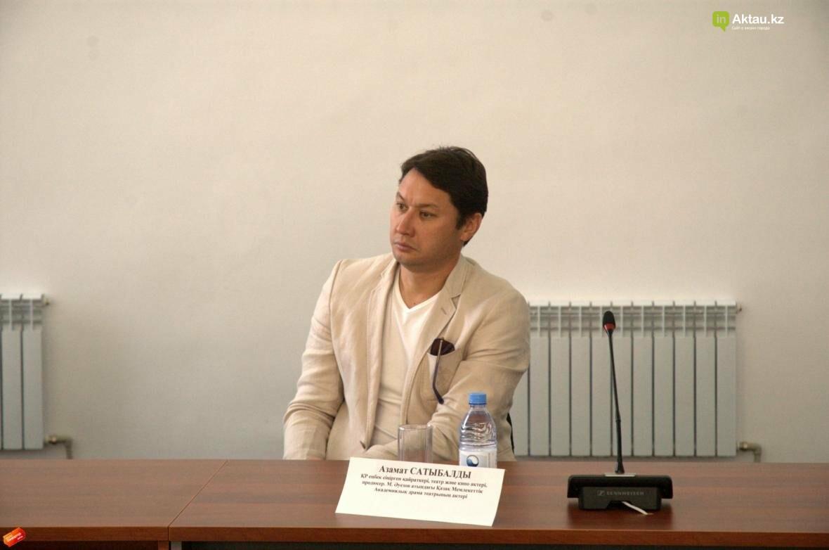В Актау прошла пресс-конференция театрального фестиваля с участием Асанали Ашимова (Видео), фото-4