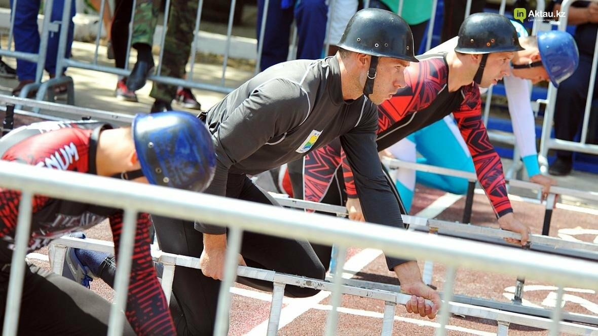 В Актау определены лидеры второго этапа чемпионата РК по пожарно-спасательному спорту, фото-9