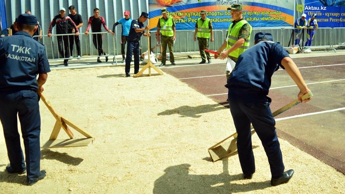 В Актау определены лидеры второго этапа чемпионата РК по пожарно-спасательному спорту, фото-11