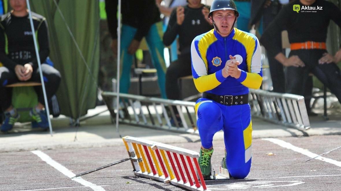 В Актау определены лидеры второго этапа чемпионата РК по пожарно-спасательному спорту, фото-3