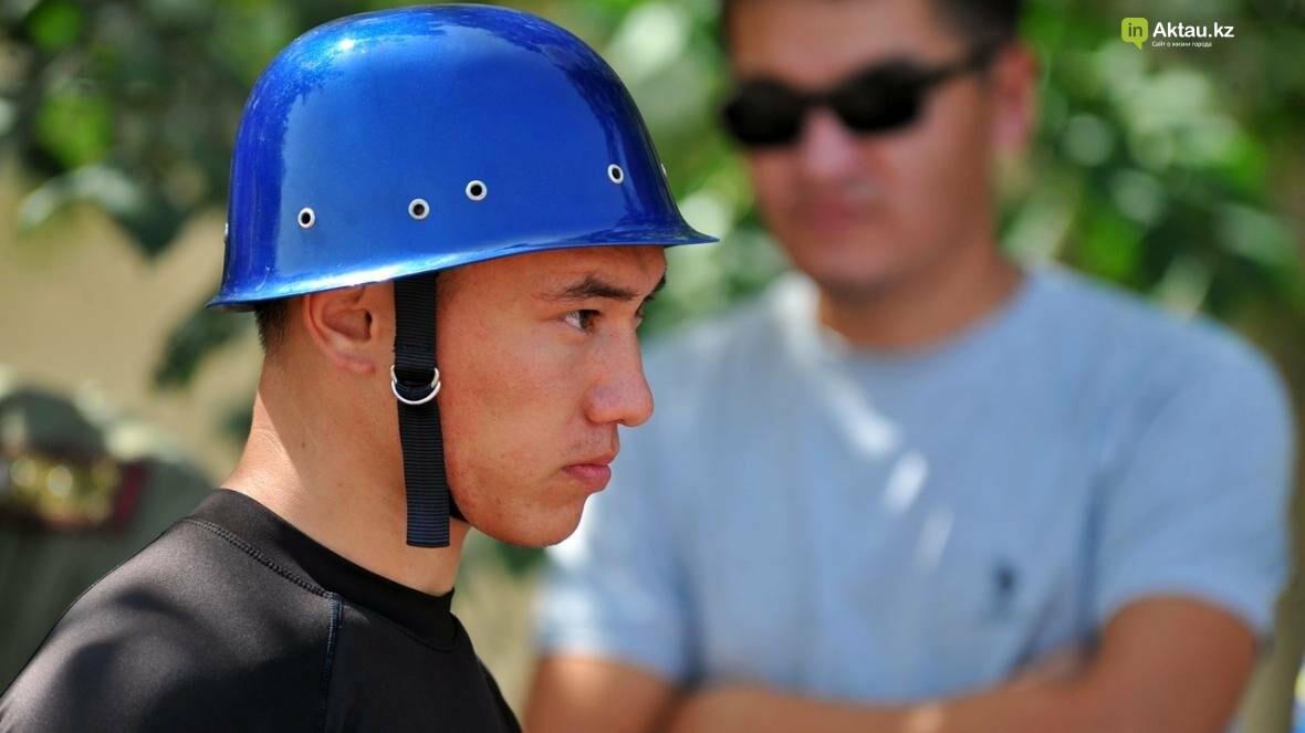 В Актау определены лидеры второго этапа чемпионата РК по пожарно-спасательному спорту, фото-1