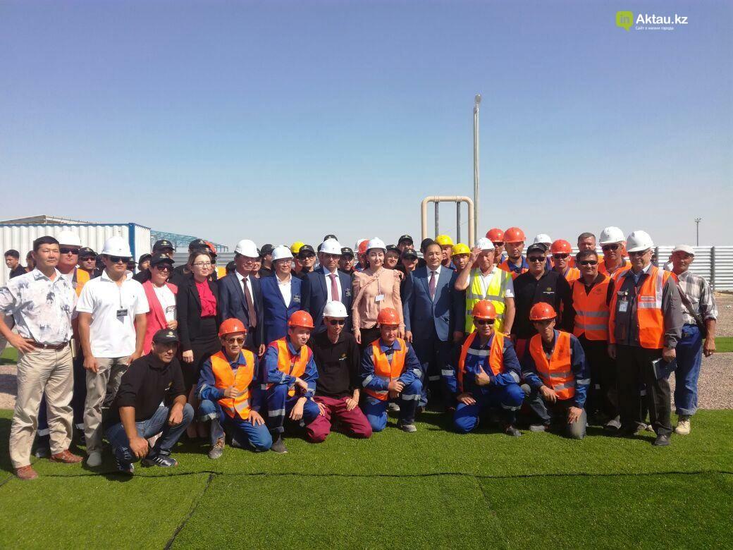 """В СЭЗ """"Морпорт Актау"""" открылся завод за 800 млн тенге (Видео), фото-3"""