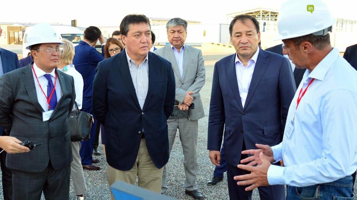 Первый заместитель премьер-министра Казахстана Аскар Мамин посетил Мангистау (Видео), фото-2