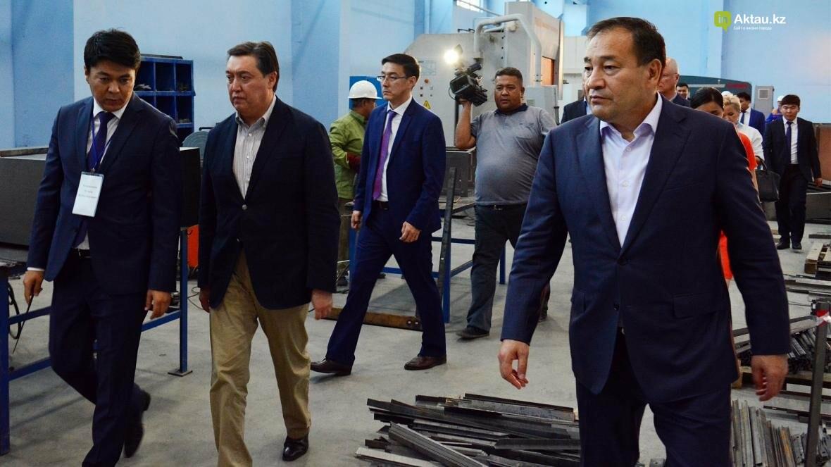 Первый заместитель премьер-министра Казахстана Аскар Мамин посетил Мангистау (Видео), фото-6