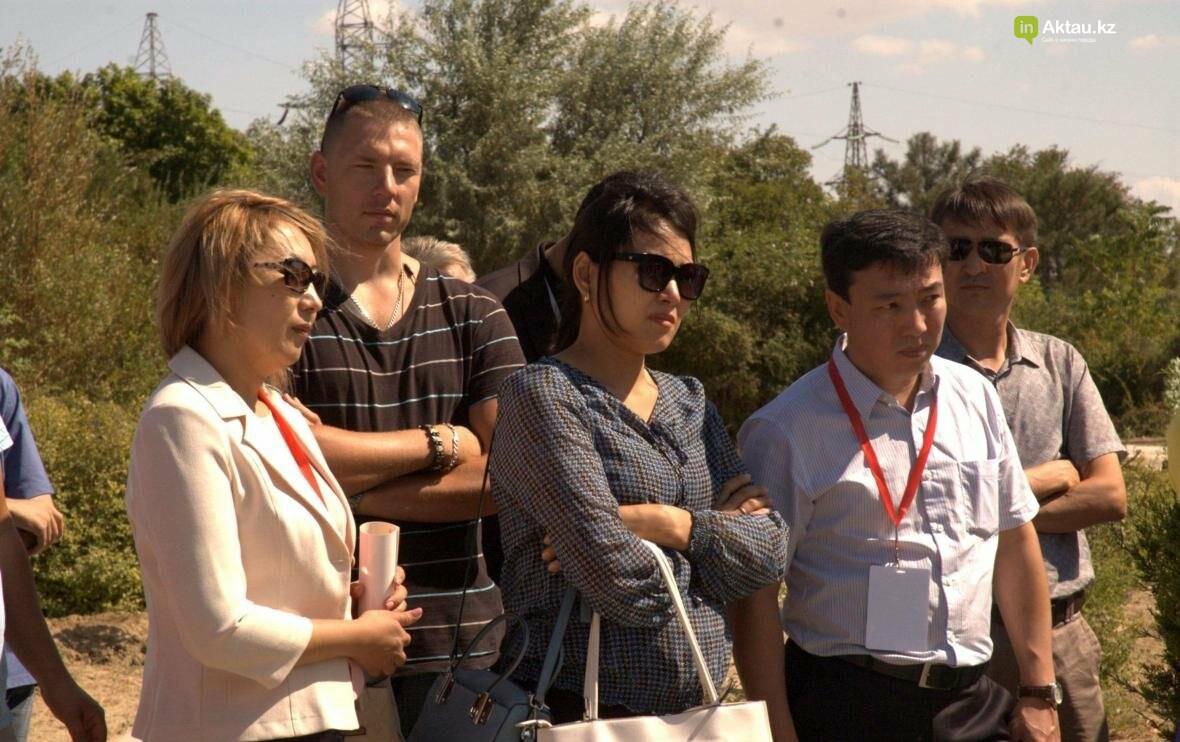 В Актау открыли аллею посмертных доноров Казахстана (Видео), фото-2