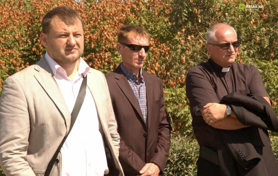 В Актау открыли аллею посмертных доноров Казахстана (Видео), фото-3