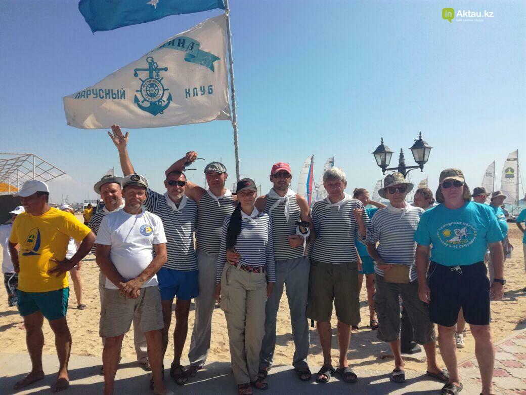 40 команд из заявленных 70-ти приняли участие  в парусной регате в Актау (Видео), фото-4
