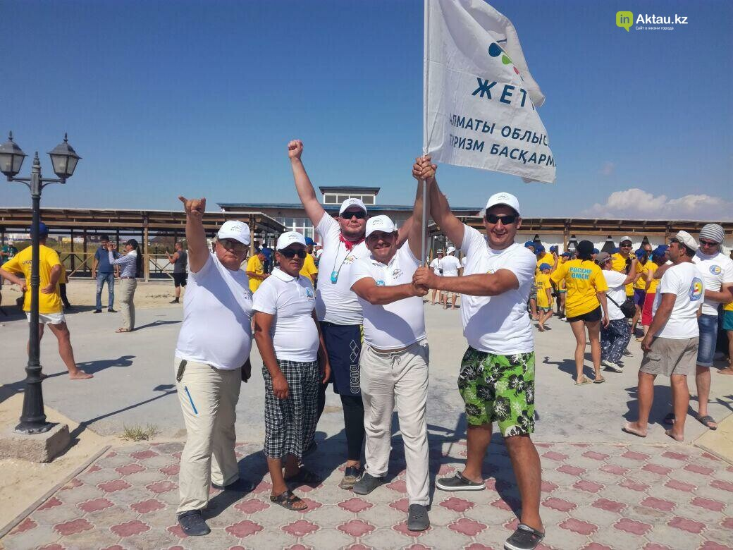 40 команд из заявленных 70-ти приняли участие  в парусной регате в Актау (Видео), фото-6