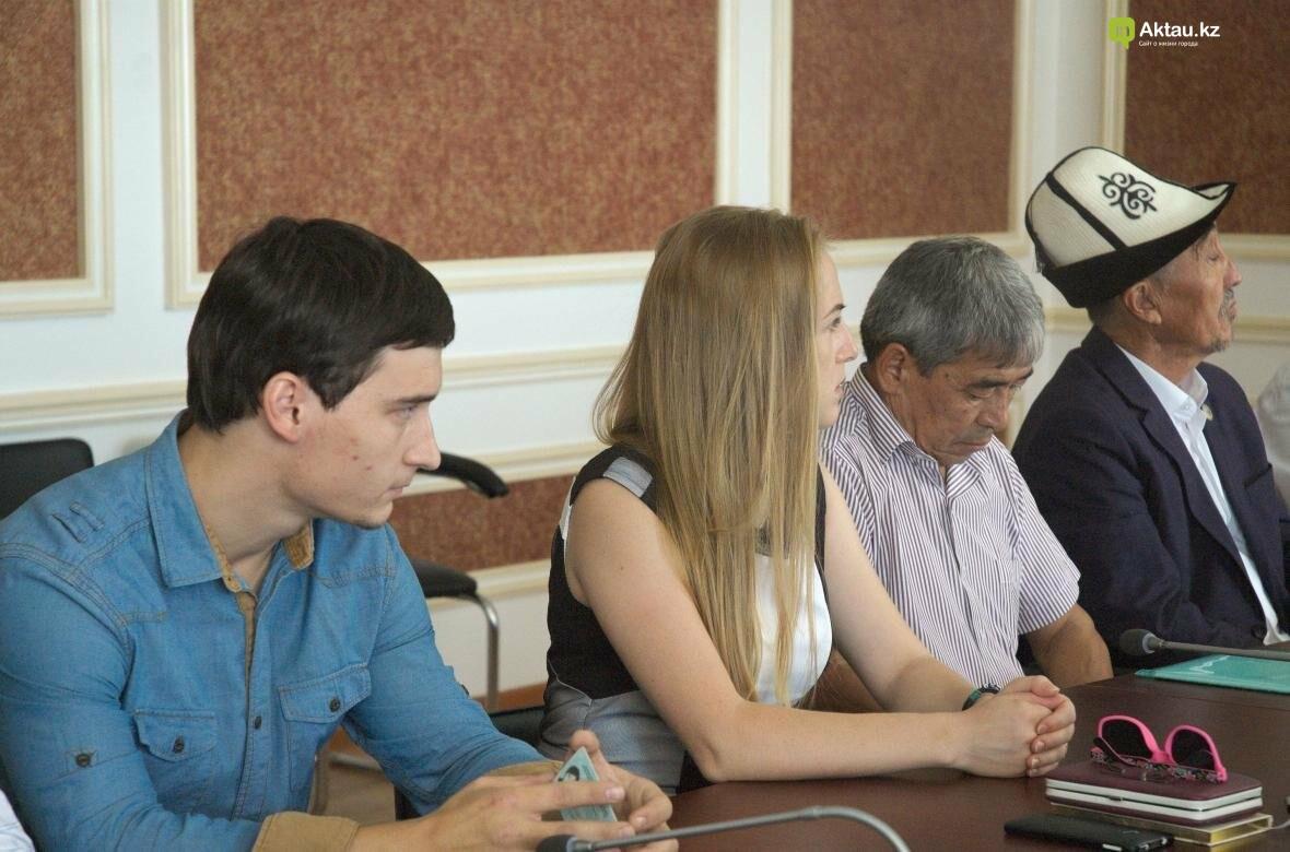 В Мангистау проведут разъяснительные работы по переходу казахского языка на латиницу (Видео), фото-7