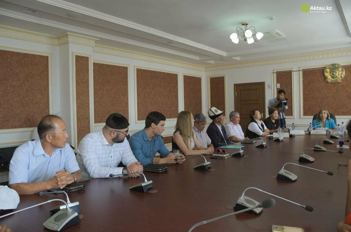 В Мангистау проведут разъяснительные работы по переходу казахского языка на латиницу (Видео), фото-3