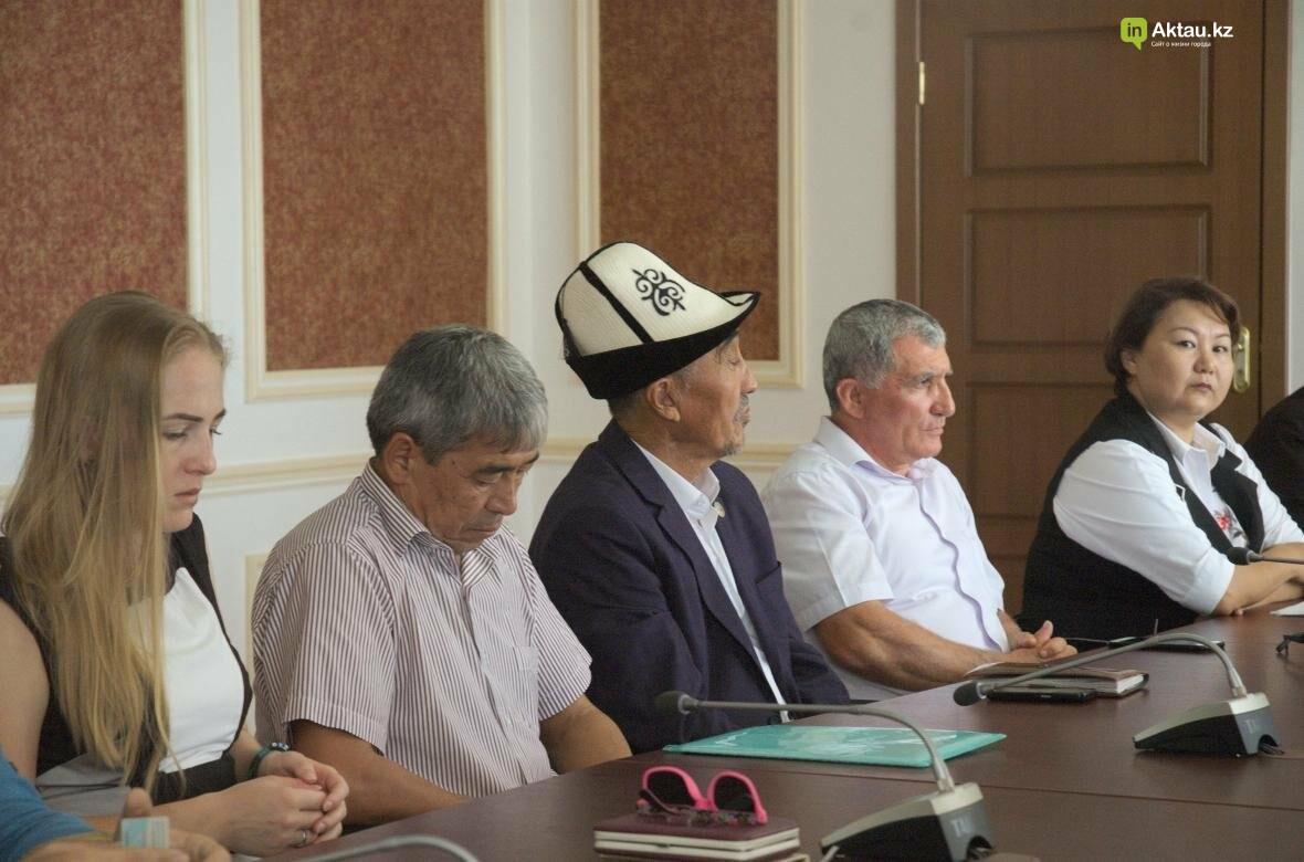 В Мангистау проведут разъяснительные работы по переходу казахского языка на латиницу (Видео), фото-4