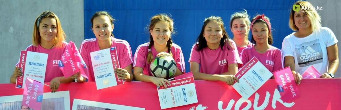 """В Актау прошел фестиваль женского футбола """"Live Your Goals-2017"""", фото-1"""