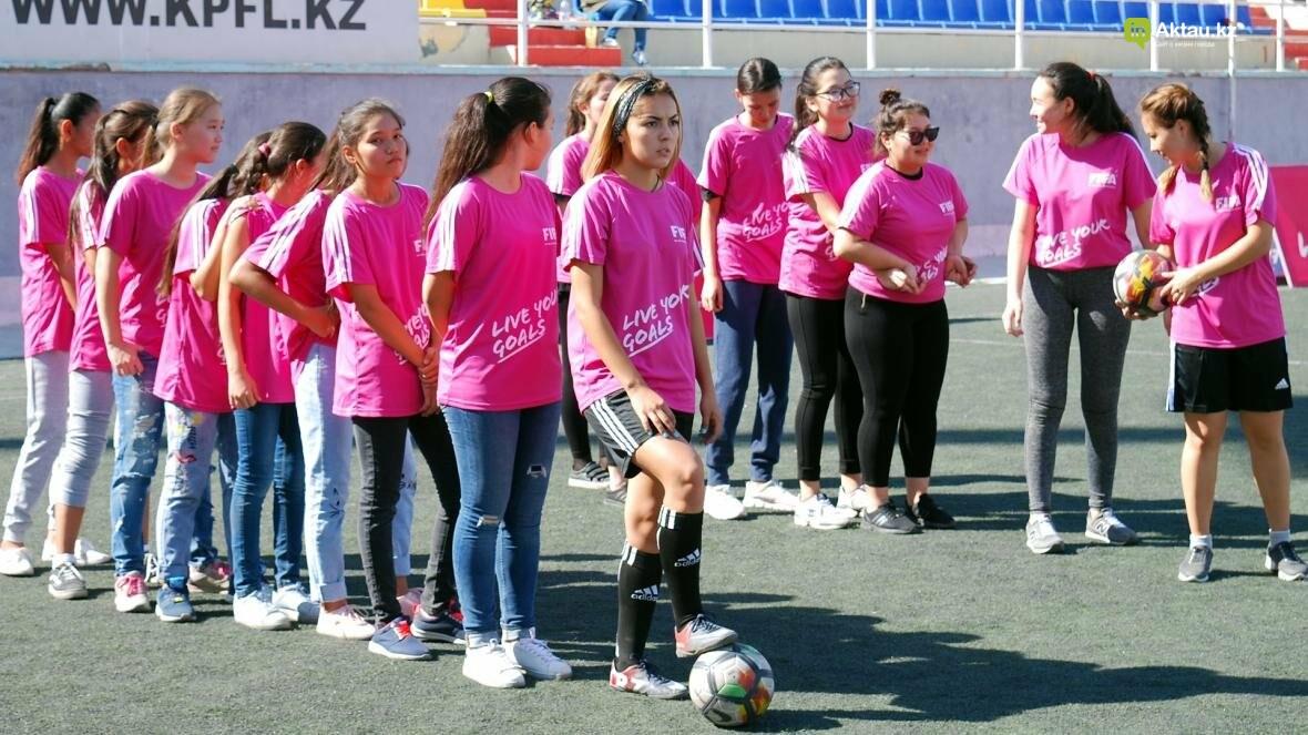 """В Актау прошел фестиваль женского футбола """"Live Your Goals-2017"""", фото-8"""