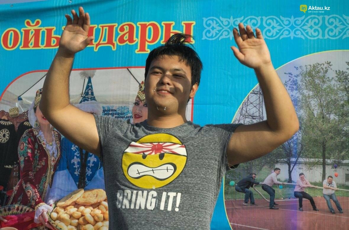 Молодежь Актау выпила шубат на скорость (Видео), фото-16