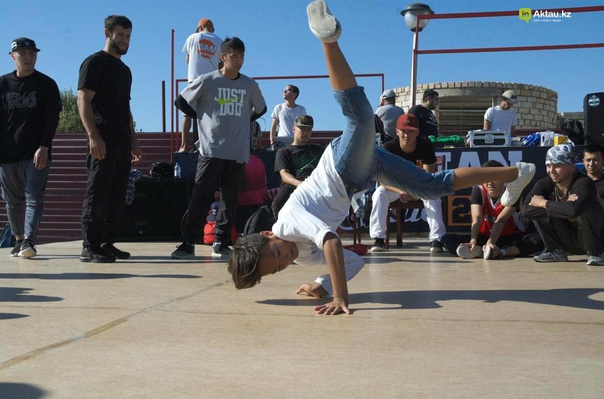 Казахстанские брейкдансеры боролись за звание лучших в Актау (Фото), фото-18