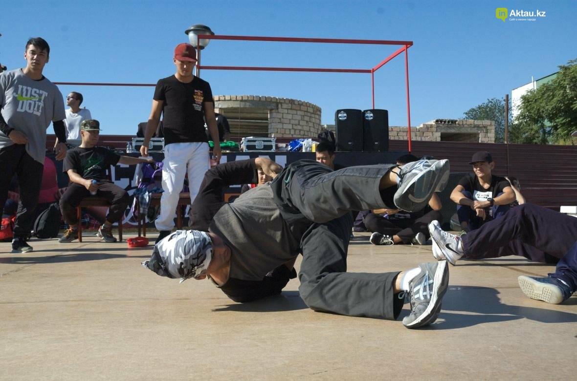 Казахстанские брейкдансеры боролись за звание лучших в Актау (Фото), фото-19