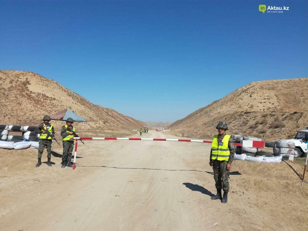 В Актау офицеры Национальной гвардии РК приняли участие в боевом учении, фото-1