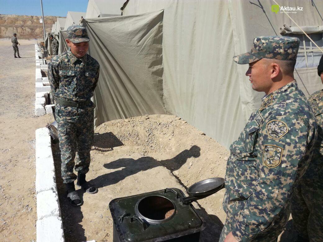 В Актау офицеры Национальной гвардии РК приняли участие в боевом учении, фото-3