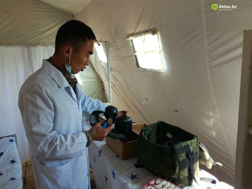 В Актау офицеры Национальной гвардии РК приняли участие в боевом учении, фото-5