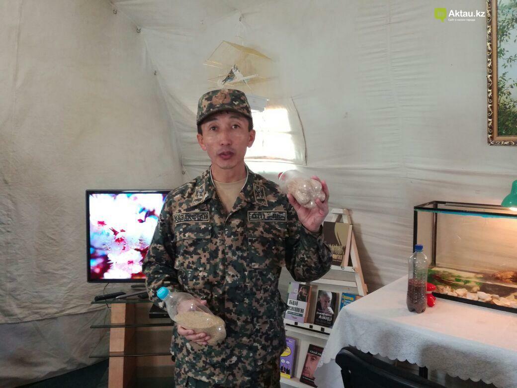 В Актау офицеры Национальной гвардии РК приняли участие в боевом учении, фото-7