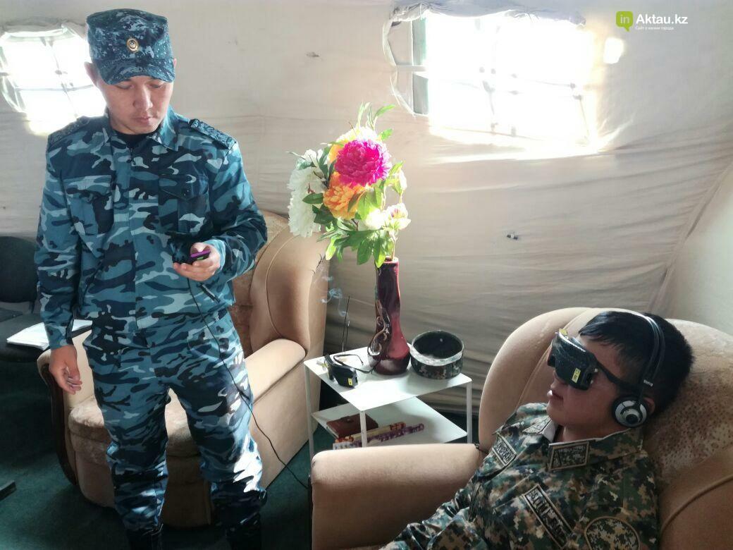 В Актау офицеры Национальной гвардии РК приняли участие в боевом учении, фото-8