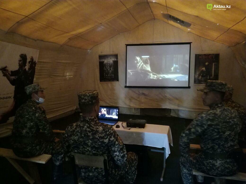 В Актау офицеры Национальной гвардии РК приняли участие в боевом учении, фото-9