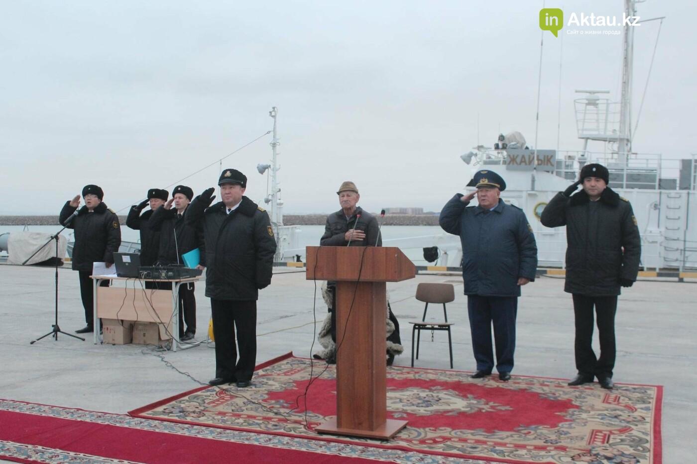 В ВМС РК попрощались с первыми дембелями, фото-1