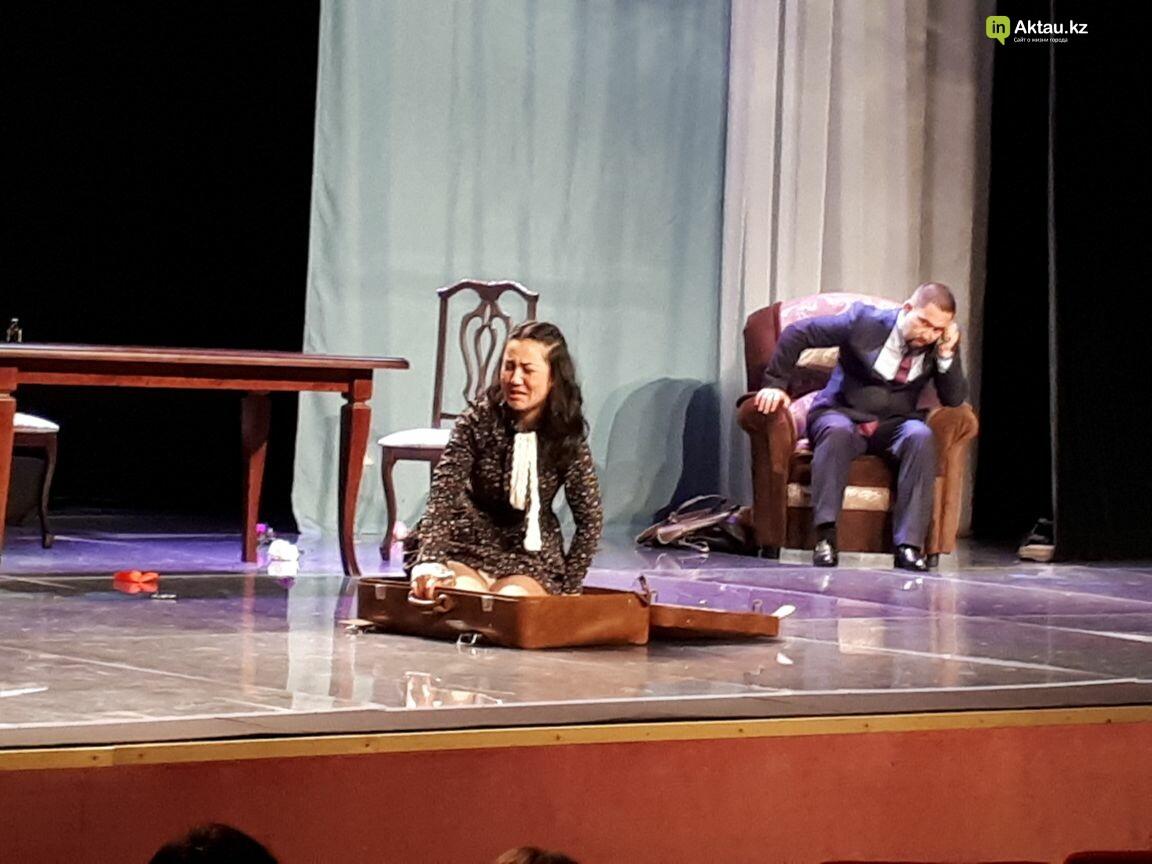 """Зрителям Актау представили премьеру спектакля """"Продайте мужа"""" (Фото), фото-9"""