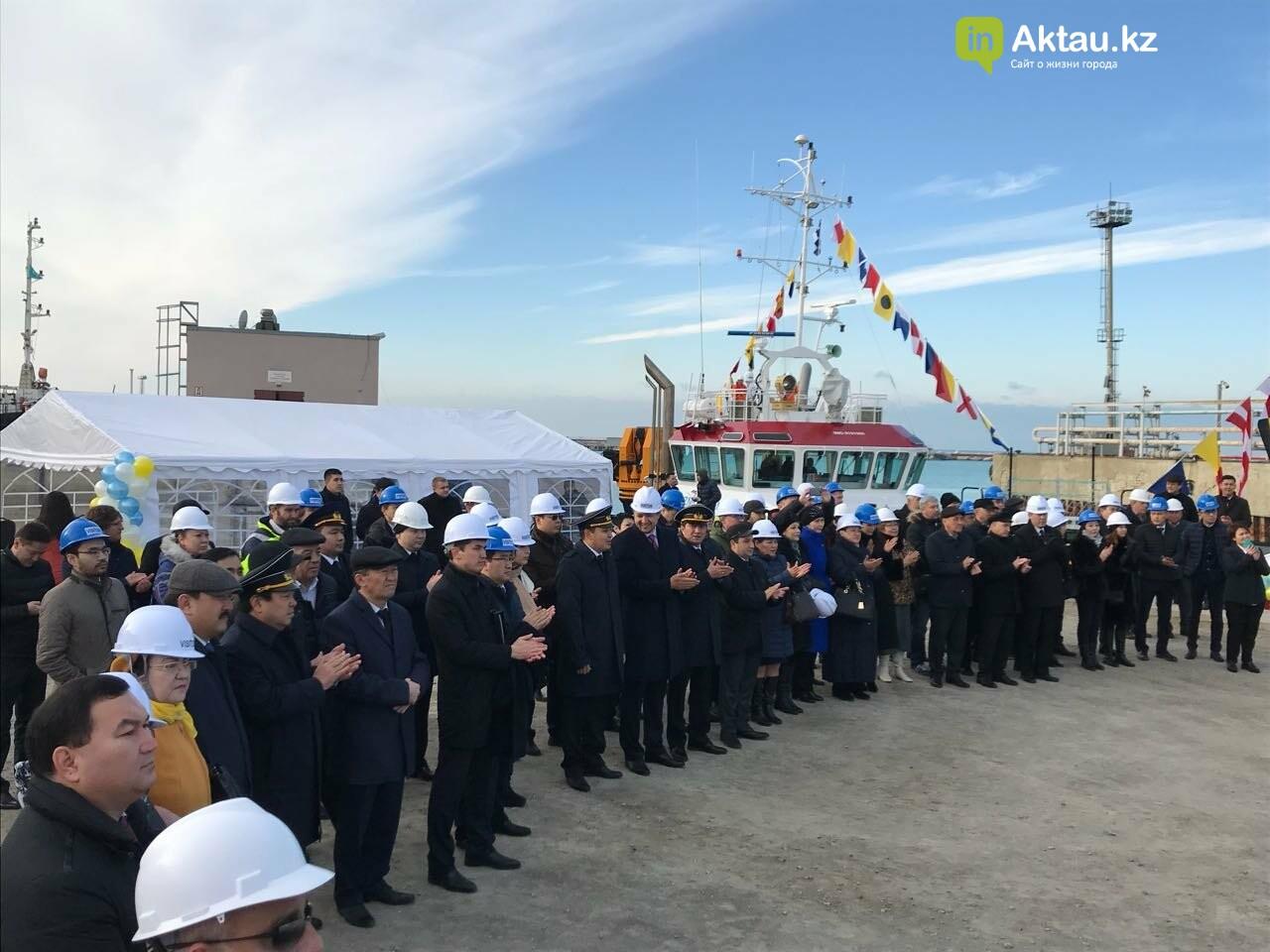 В порт Актау прибыли два новых буксира за 5 миллионов евро, фото-5