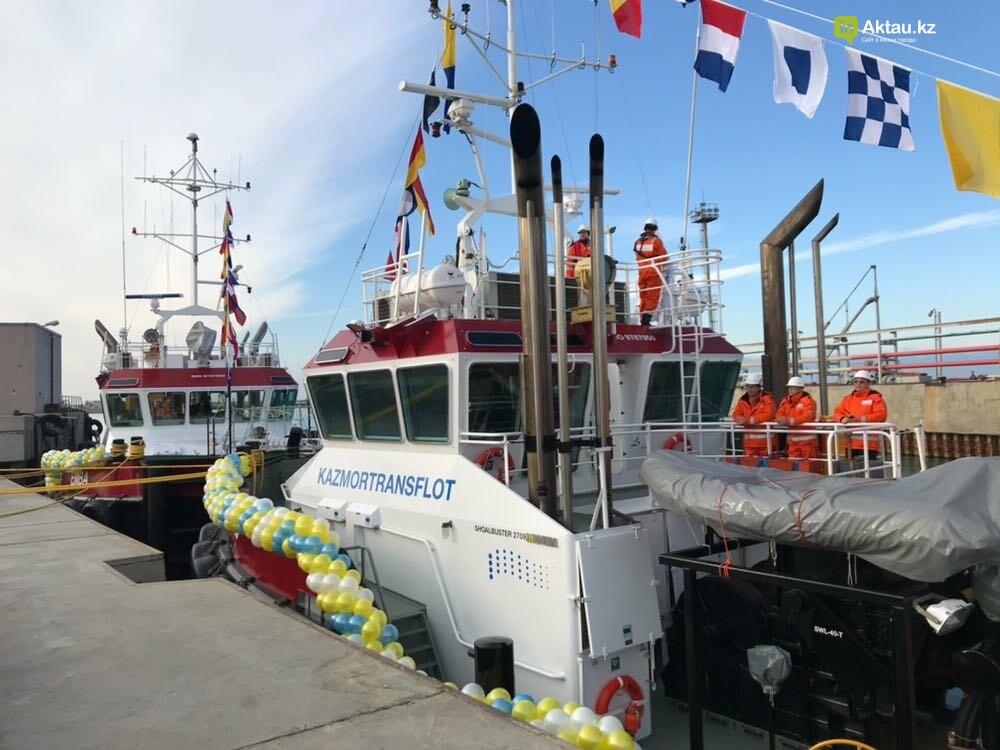 В порт Актау прибыли два новых буксира за 5 миллионов евро, фото-3