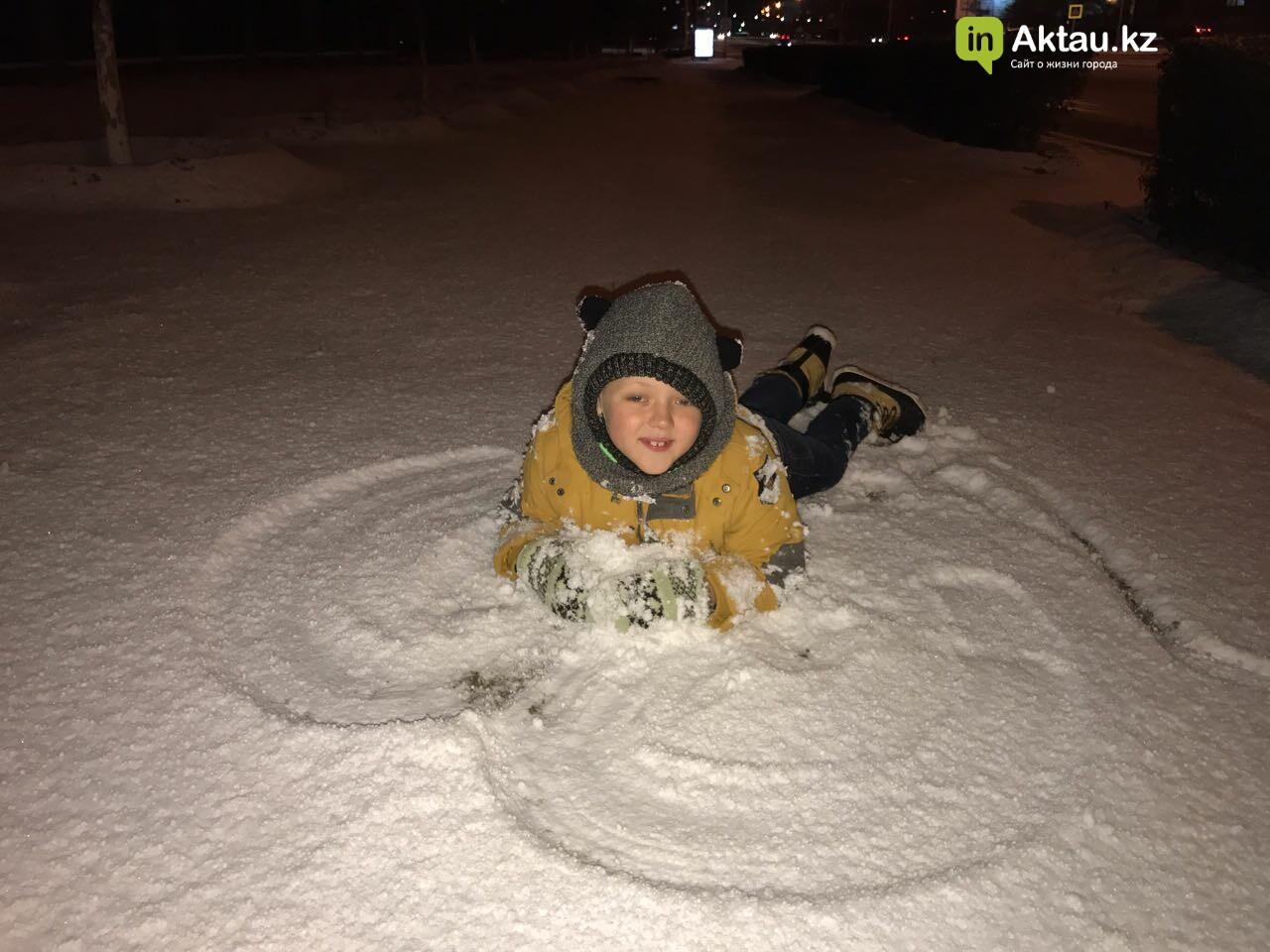 Первый снег в Актау (Фото), фото-4