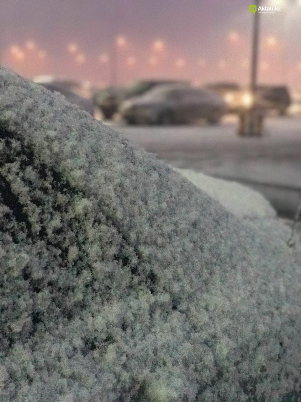 Первый снег в Актау (Фото), фото-5