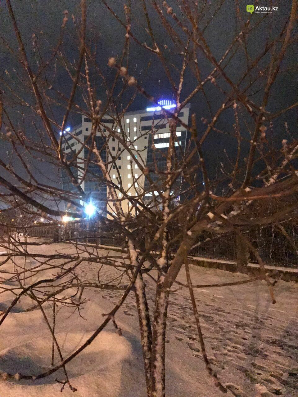 Первый снег в Актау (Фото), фото-8