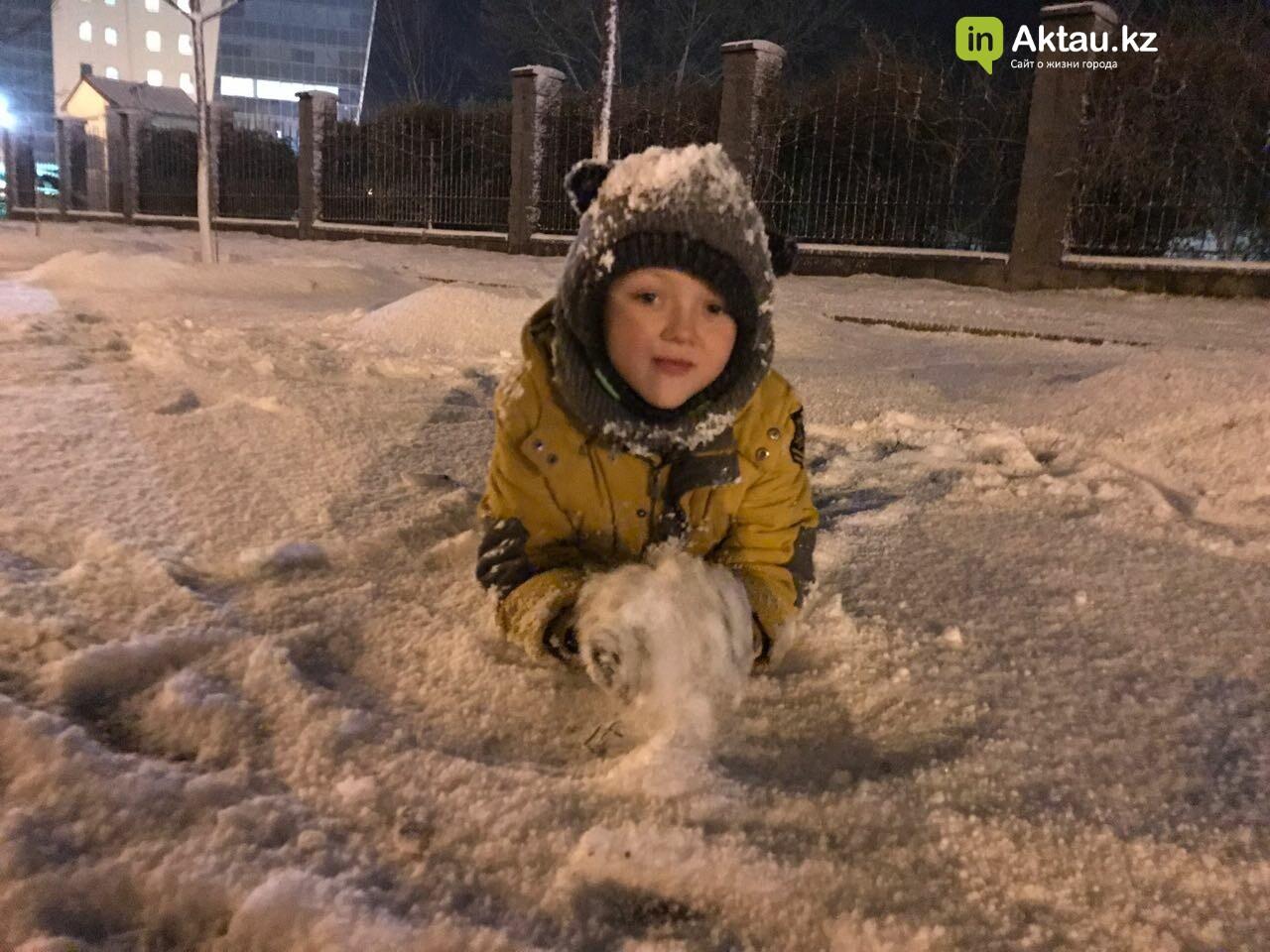 Первый снег в Актау (Фото), фото-7