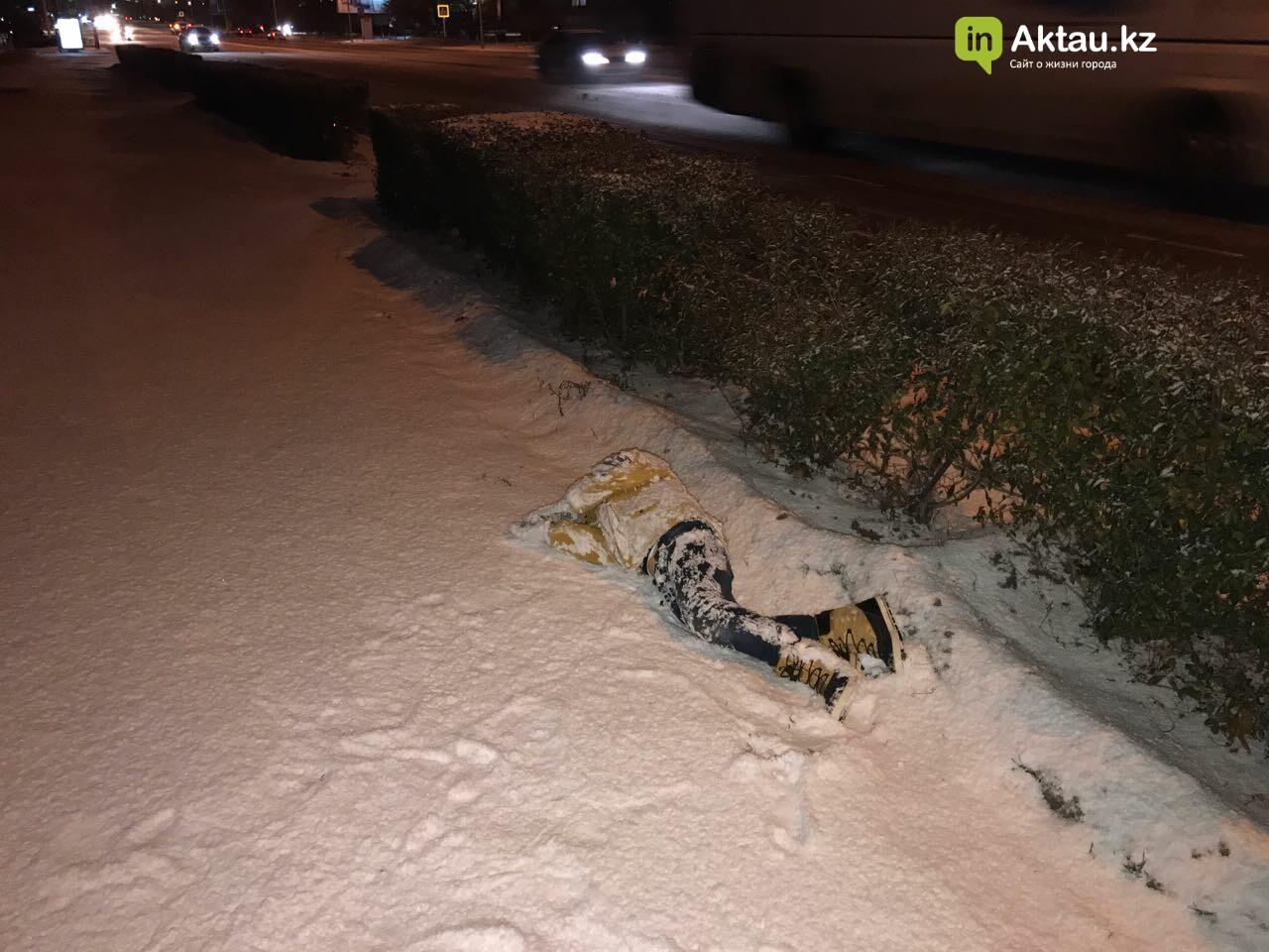 Первый снег в Актау (Фото), фото-6