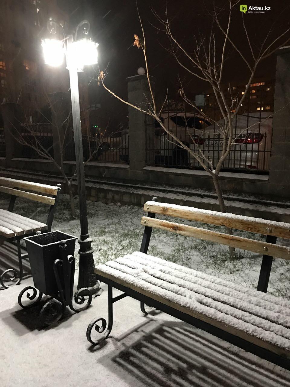 Первый снег в Актау (Фото), фото-13