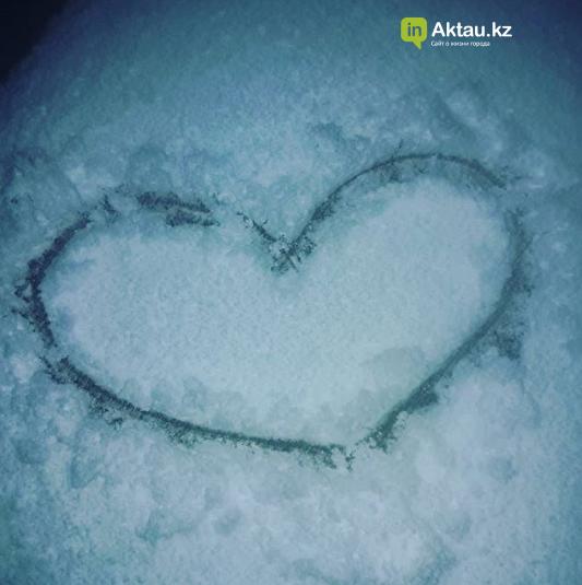 Первый снег в Актау (Фото), фото-9