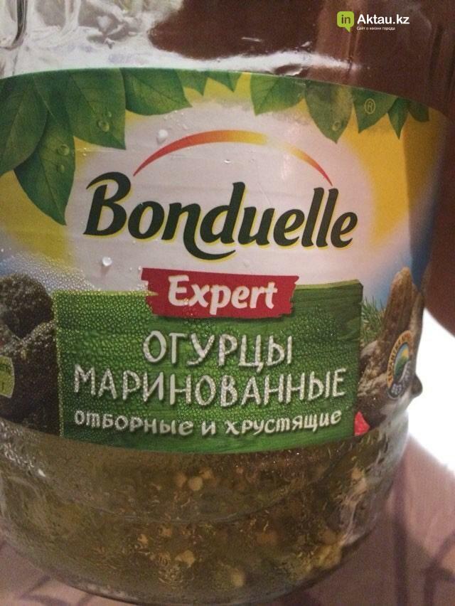 Маринованные огурцы с червями купила жительница Актау в супермаркете, фото-1