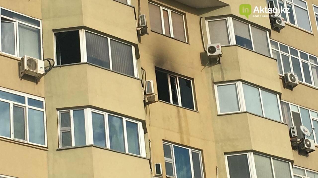 В 13 микрорайоне из-за пожара в квартире эвакуировали 50 жильцов дома, фото-3