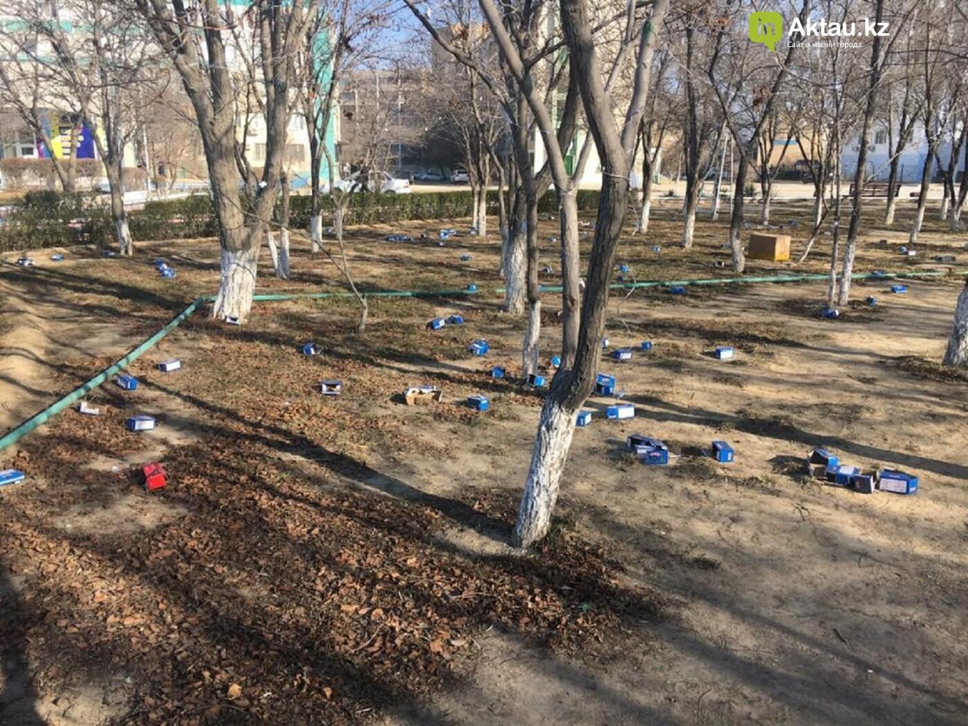 В Актау началась подготовка города к Новому году, фото-4